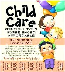 Free Printable Daycare Flyers Daycare Flyer Templates Companiesuk Co