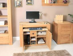 hidden home office. Oak Hidden Home Office. Atlas Office Desk H