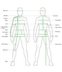 body measurement chart for men male body measurement chart printable bedowntowndaytona com