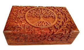rastogi handicrafts jewelry bo fine wooden carving tree of life for handmade ebay