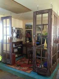 office wall dividers. Use Old Doors As A Divider Between The Two Rooms In Our Bedroom Office Wall Dividers