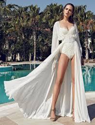 Discount Sexy Summer Beach Wedding Dresses 2017 With Split Sweep