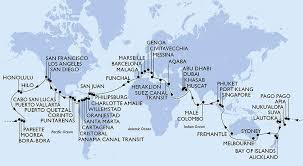 Image result for the world cruise