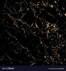 black marble texture. Grunge Marble Texture Black Gold Vector Image