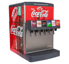 6 flavor counter electric soda fountain system