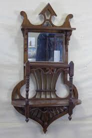 antique victorian etagere wall shelf w