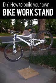 diy bike work stand