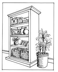 drawing furniture plans. Drawn Book Shelf Drawing #3 Furniture Plans