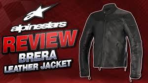 2016 alpinestars brera leather jacket review from sportbiketrackgear com