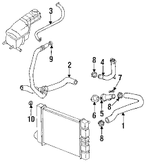 com acirc reg pontiac cooling radiator and components pipe  1997 pontiac grand am gt l4 2 4 liter gas radiator hoses
