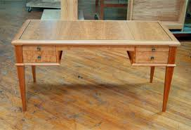 awesome brown wooden table with drawers and stainless legs for scandinavian desk ideas awesome scandinavian ideas
