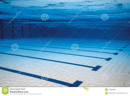 underwater empty swimming pool stock image image of training lane 124692965
