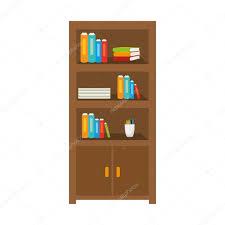 Büromöbelbibliothek Inspirationen Bibliothek Depositphotos Büro Möbel Bibliothek Bücherregal Bücher Objekt Vektorillustration Vektor Von Yupiramos Büromöbelbibliothek Stockvektor 121099824
