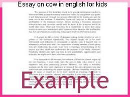 essay on cow in english for kids research paper academic service essay on cow in english for kids