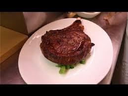 oven baked rib eye steak meat dishes