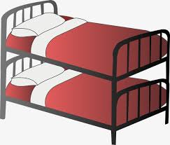 bunk beds clipart.  Bunk Bunk Beds Red Cup Metal Frame Bed They Use PNG Image And Clipart Throughout Bunk Beds Pngtree