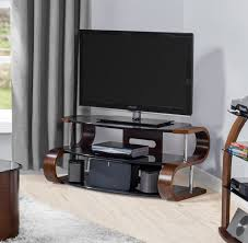 s curved retro modern tv stand