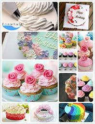 Cake Decorating Storage Box Funwhale Piping Tips100PieceStainless Steel Cake Decorating Tips 91