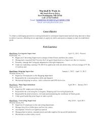 Marshall R WadeResume Extraordinary Make My Resume