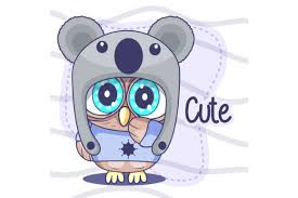 Every path element is drawn at the same time with a small delay at the to give more freedom, it's possible to override the animation of each path and/or the entire svg. Cute Owl Cartoon Hand Drawn Vector Graphic By Maniacvector Creative Fabrica