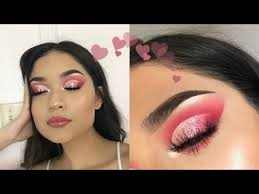 if your best image of valentine s day makeup gives you images of pink and more pink and glitter pink then this is just the kind of makeup tutorial that you