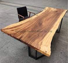 monkey pod wood slab table top