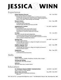 High School Graduate Resumemat College Student Objective Resume