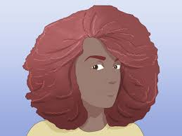 3 Ways To Make Straight Hair Into Afro Hair Wikihow