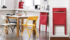 folding furniture for small spaces. space for a table but not the chairs these fold flat and come with folding furniture small spaces