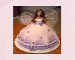 Barbie Cake Fondant Online Cake Delivery In Surat