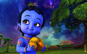 Little Krishna Cute Baby Krishna ...