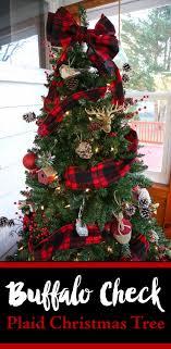 Buffalo Check Plaid Christmas Tree