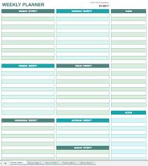 Planner Sheet Free Printable Daily Calendar Templates Smartsheet