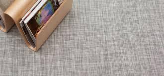 chilewich  floor  woven floor mats  ikat  whitesilver