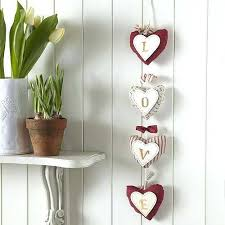 Home Exterior Decorative Accents Home Decorative Things Fabric Hearts Decorations With Love Letters 85