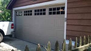 garage door 16x8Clopay 16x8 Gallery Garage Door rvalue 90 WestmontIL 60559