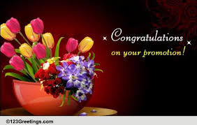 Congrats On Your Promotion Congratulations On Success Free Promotion Ecards Greeting