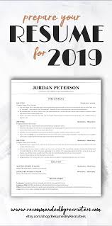 Looking For A Perfect Resume Template That Will Land You A Job In