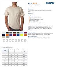 Gildan Heavy Cotton T Shirt Size Chart Arts Arts