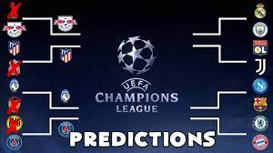 The rules of the draw. Champions League Returns Last 16 Predictions Youtube