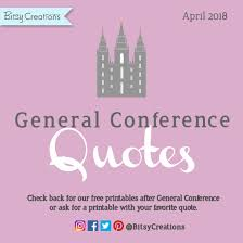The General Free Quote Delectable Free General Conference Quote Art Printables April 48