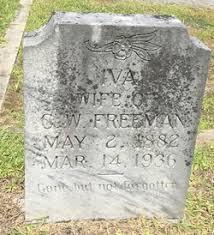 Rebecca Iva Isom Freeman (1882-1936) - Find A Grave Memorial