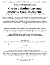 Criminology Research Paper Example