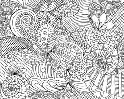 Small Picture Hard Coloring Pages Adults Perfect Free Difficult Coloring Pages