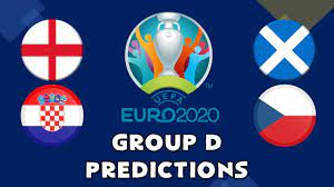 EURO 2020 GROUP D PREDICTIONS - YouTube