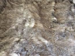 faux fur throw rug