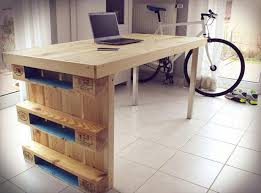 wonderful pc desk ideas pallet computer desks pallet wood projects