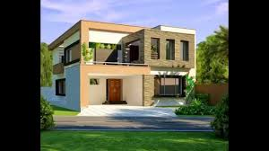 10 marla modern home design 3d front elevation youtube