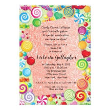 candyland sweet 16 invitations. Rose Gold Glitter Candyland Sweet 16 Invite Glamour Brilliance Sparkle Design Idea Diy Elegant Pinterest Throughout Invitations