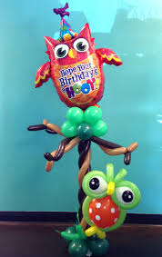 Owl Balloon Decorations Birthday Bouquets Birthday Centerpieces Columns Birthday Numbers